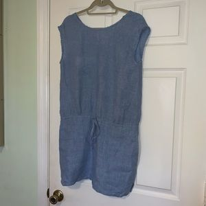 SOFT JOIE CHAMBRAY SUMMER DRESS